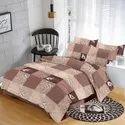 Block Print Satin Bed Sheets