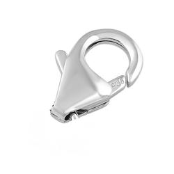 925 Sterling Silver Fish Lock- 15mm