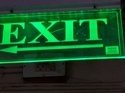 Emergency Exit Signs LED