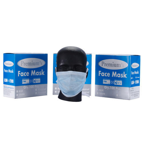 100 pieces disposeable 3 layer mask