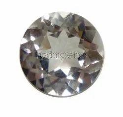 Rose Quartz Faceted Round Gemstone