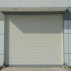Galvanised Iron , Full Height Auto Rolling Shutter
