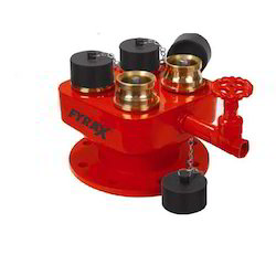 4 Way Breeching Inlet Valve