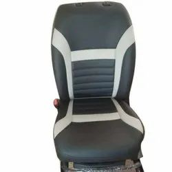 MR Black Artificial Leather Car Bucket Seat Cover