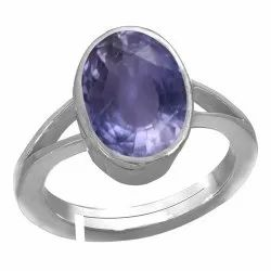 Neeli Stone Ring For Man and Women Silver Gemstone