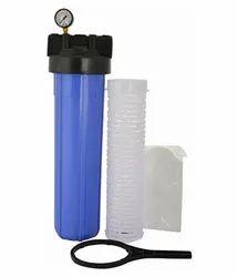 Blue Bag Filter Housing Set, 20