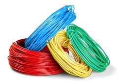 Conductor Type: Armoured Red Electrical Wire, For House Wiring