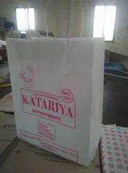 进口漂白牛皮纸购物袋,容量:2公斤