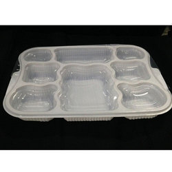 8 Cavity Meal Tray
