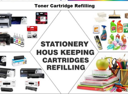 Stationery House Keeping Cartridges Refilling Service