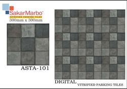 Asta-101 Digital Vitrified Parking Tiles