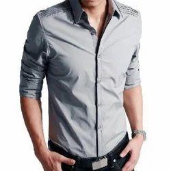 Men's Full Sleeve Trendy Shirt, Size: 38 - 44