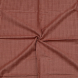Handwoven Tussar Cotton Blouse Fabric In Copper-Peach MET331