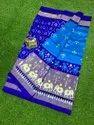 Ethnics Land Traditional Handwoven Pure Silk Pochampally Double Ikkat Patola Silk Saree