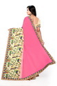 Riva Enterprise Women's Georgette Embroidred Saree