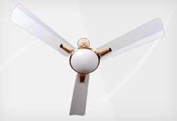 New Super Delux White Ceiling Fan