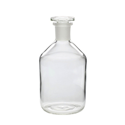 Reagent Narrow Mouth With Flat Head Stopper Plain Bottles