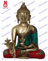 Buddha Medicine Asthmangal W/ Out Base Statue