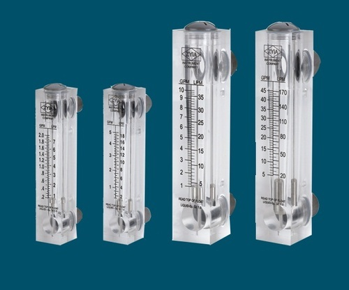 pp aquatech acrylic flow rota meter  ppa   for laboratory