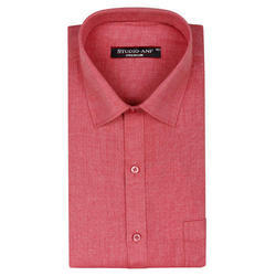 Mens Full Sleeves Plain Formal Shirt