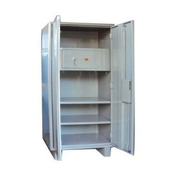Double Doors Mild Steel Office Almirah