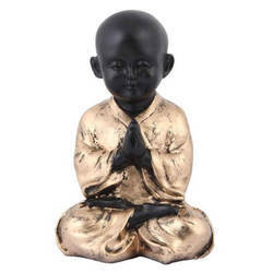 Baby Monk Buddha Relaxing Statue