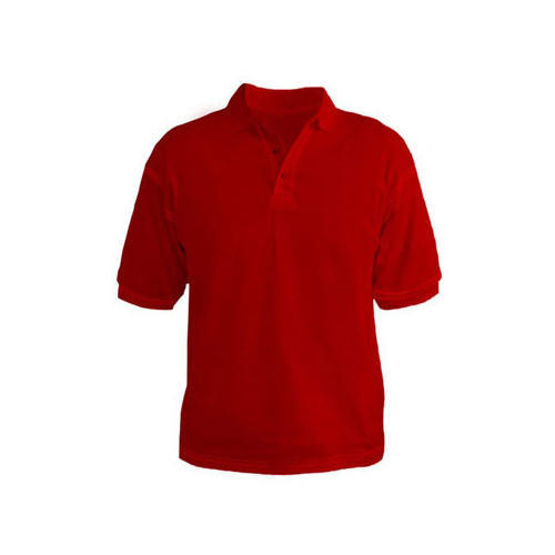 75f474aa Mens Plain Red Collar Cotton T Shirts, Rs 195 /piece, Fibre To ...