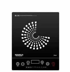 Maharaja Whiteline Black blaze induction cooktop
