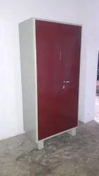 Red Steel Almirah, Warranty: 3 Year