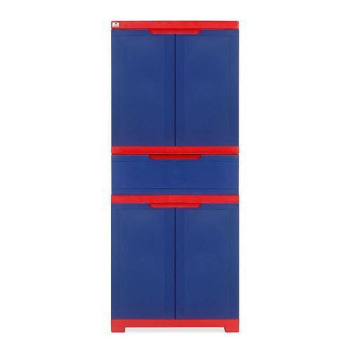 Pepsi Blue And Bright Red Plastic Nilkamal Freedom Cabinet