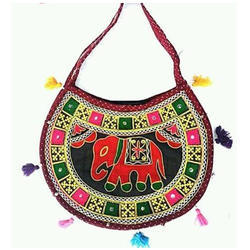 Embroidered Ladies Handicraft Sling Bag