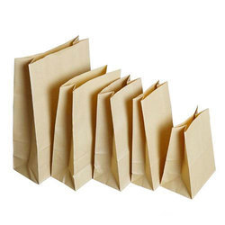 Plain Brown Paper Bag, Capacity: 250g To 5kg