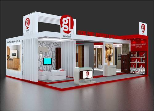 Exhibition Stall Fabricators In Lucknow : Exhibition stall fabrication in noida sector by sas