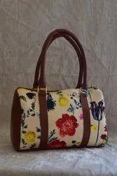 AZZRA Raw Silk Ladies Travel Handbags, for Casual Wear