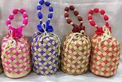 Silk Potli Bag