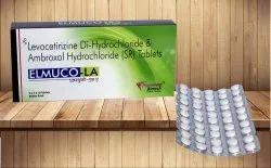 Levocetirizine 50 Mg & Ambroxol 75 Mg Tablet