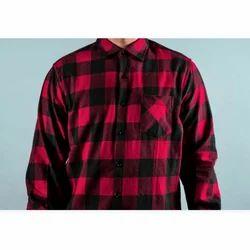 Mens Trendy Check Full Sleeves Shirt