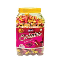 Strawberry Eclairs Toffee Jar