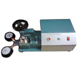 Bursting Strength Tester Mullen Type