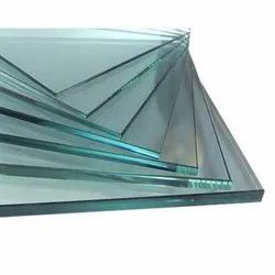 Transparent Square Plain Float Glass, Glass Thickness: 4-19mm