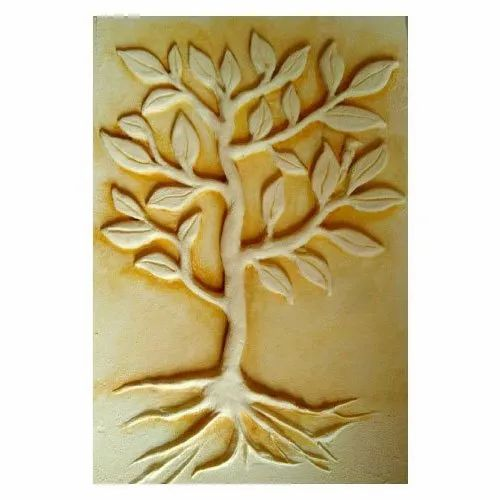Tree Fiber Wall Mural, For Home Decor, Size: 40x12 Inches