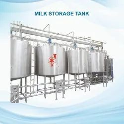 Storage Tanks Or Milk Silos