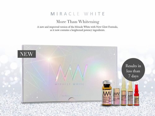 Miracle White Skin Whitening Injection