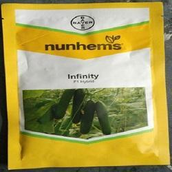 Nunhems Infinity F1 Cucumber Seeds, for Greenhouse ,Pack Size: 1000 Seeds