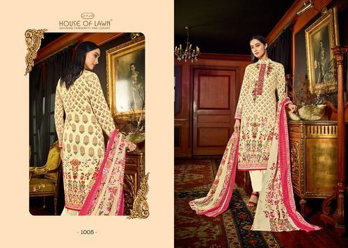 27ae34141a Mumtaz House Of Lawn Muslin Vol 10 Cotton Salwar Suit at Rs 625 ...