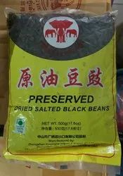 Triple Elephant Dried Salted Black Beans, Japan, Packaging Size: 500 g