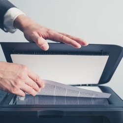 Clean Hard Copy Company Document Scanning Services, Size: A4