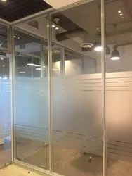 Glass Partition Work