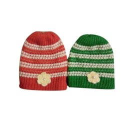 Ladies Fancy Woolen Cap baby soft