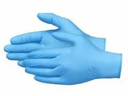 Non-Sterile Rubber Disposable Nitrile Gloves, Packaging Type: Box, Size: Free Size